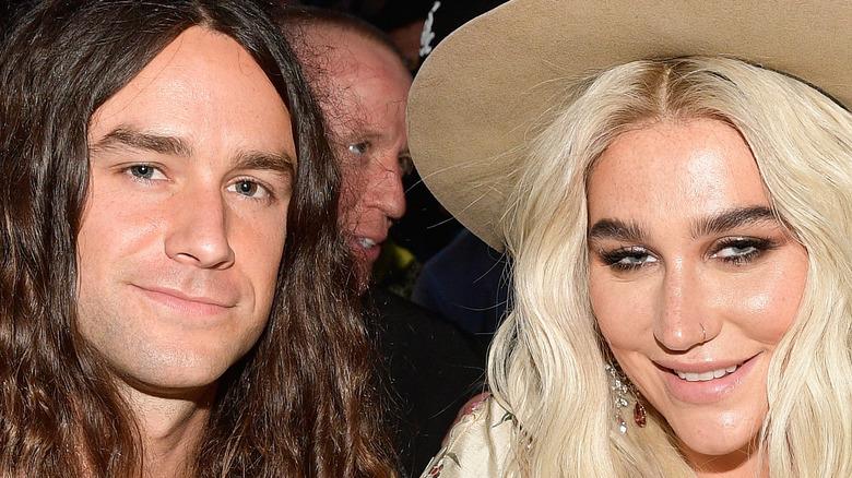Brad Ashenfelter sits with Kesha