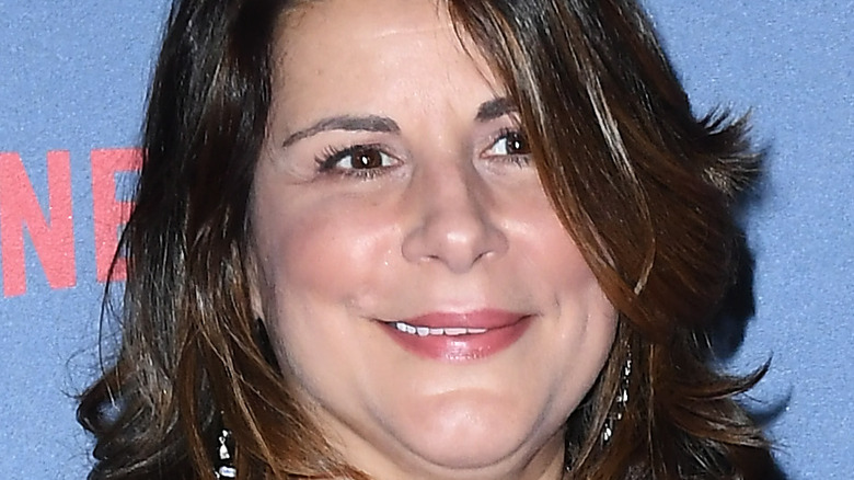 Cathy Scorsese smiling