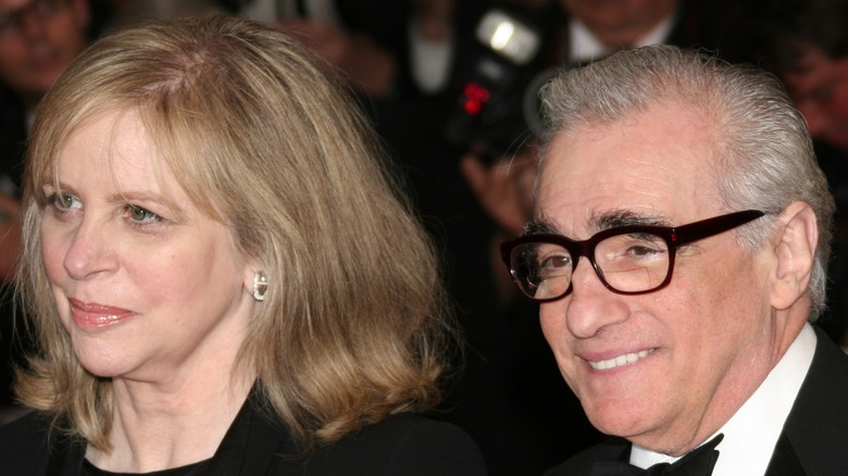 Helen Morris and Martin Scorsese on the red carpet