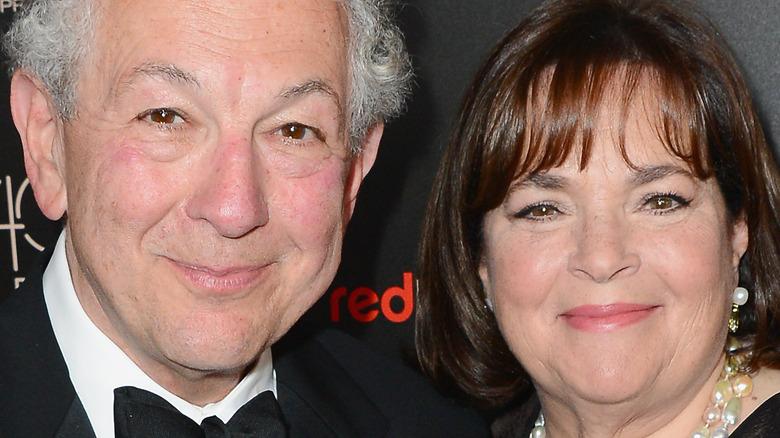 Ina and Jeffrey Garten attending a premiere