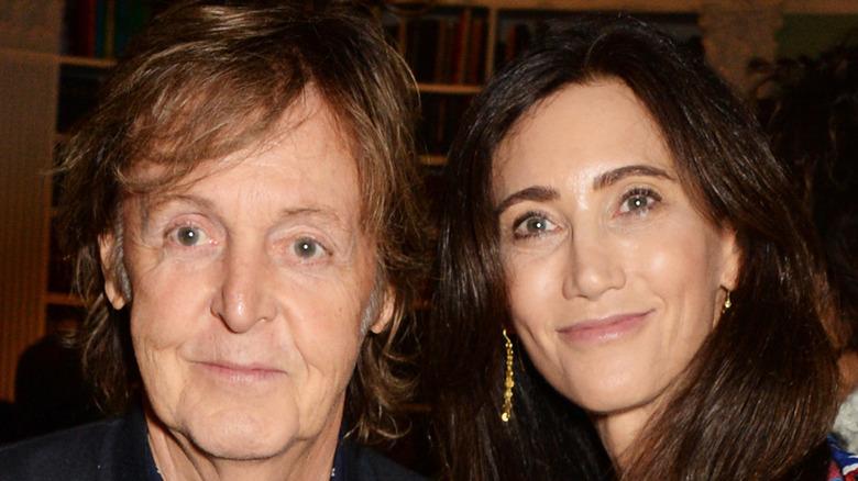 Nancy Shevell with Paul McCartney