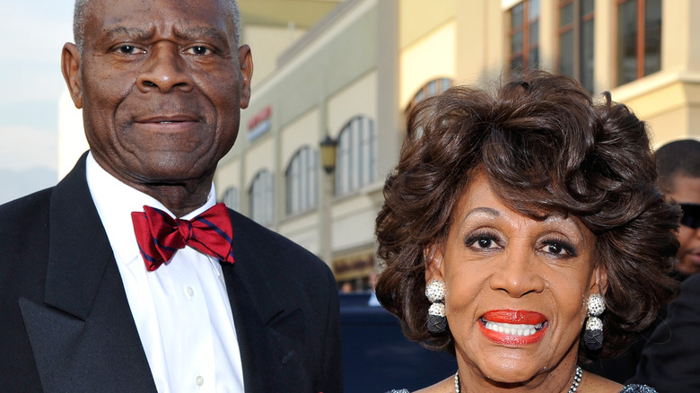 Maxine Waters and Sidney Williams