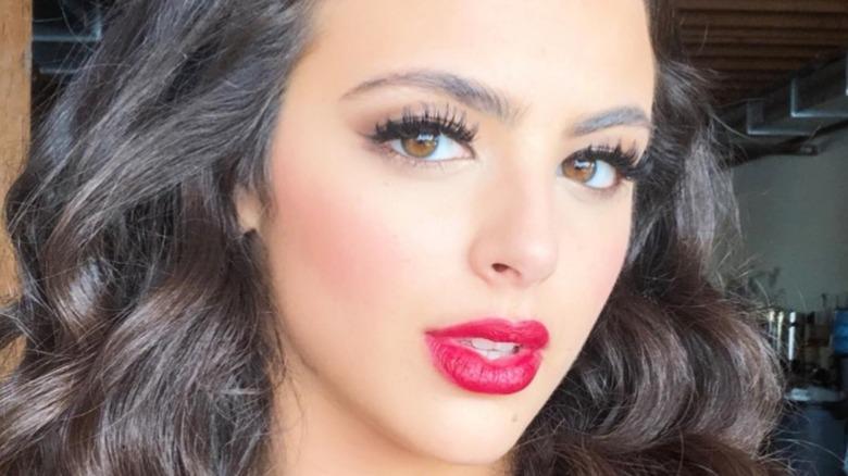 Sofia Ghavami taking a selfie