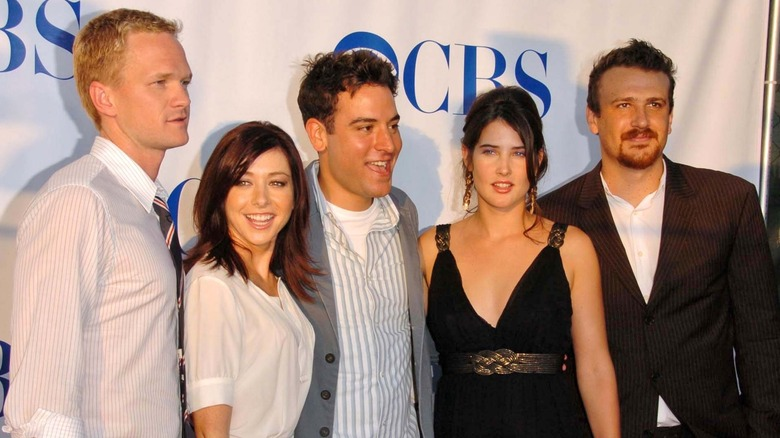 """The cast of """"How I Met Your Mother"""" at the TCAs in 2006"""