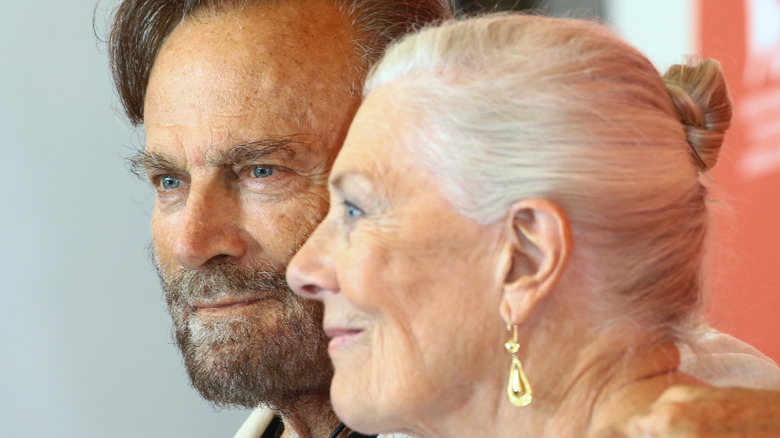 Franco Nero with Vanessa Redgrave in forefront