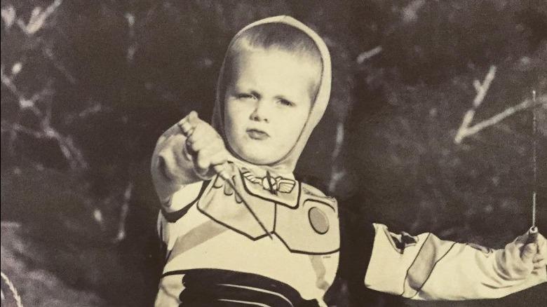 Meg Ryan's son Jack Quaid as a kid