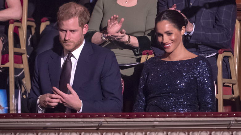 Harry and Meghan in 2019