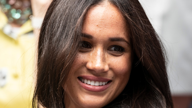 Meghan Markle close up