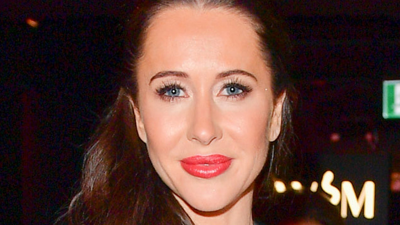 Jessica Mulroney smiling at an event