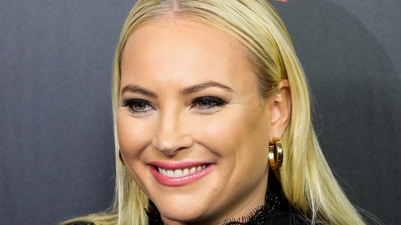 Meghan McCain poses on the red carpet