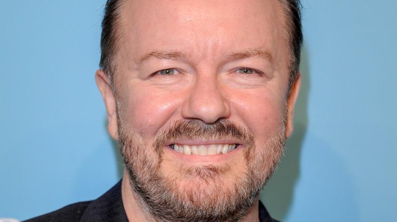 Ricky Gervais close-up