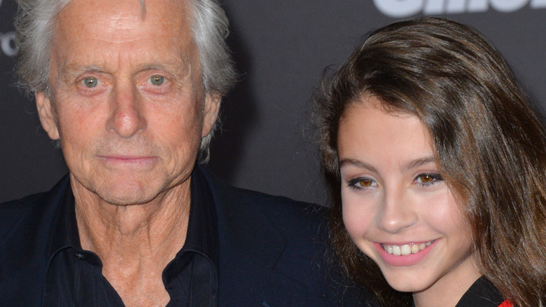 Michael Douglas and daughter Cadys