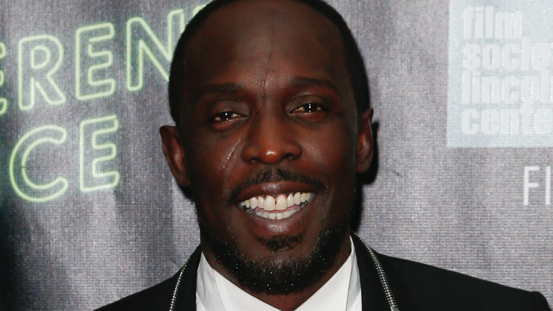 Michael K. Williams on the red carpet