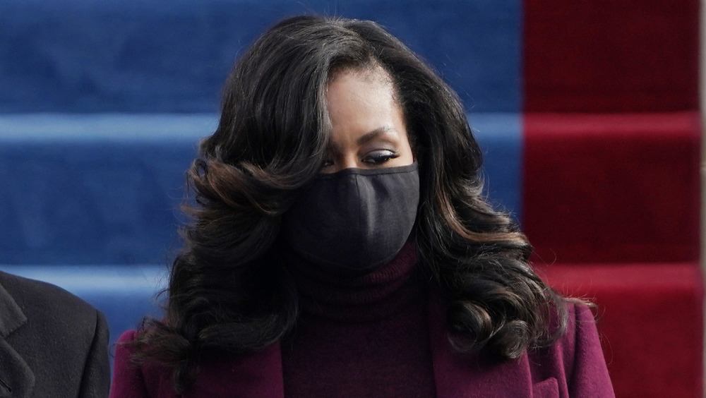 Michelle Obama at the 2021 presidential inauguration