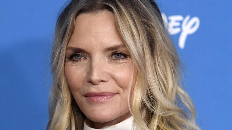 Michelle Pfeiffer smirking
