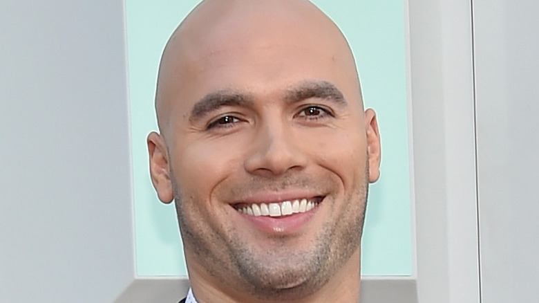 Mike Caussin smiling