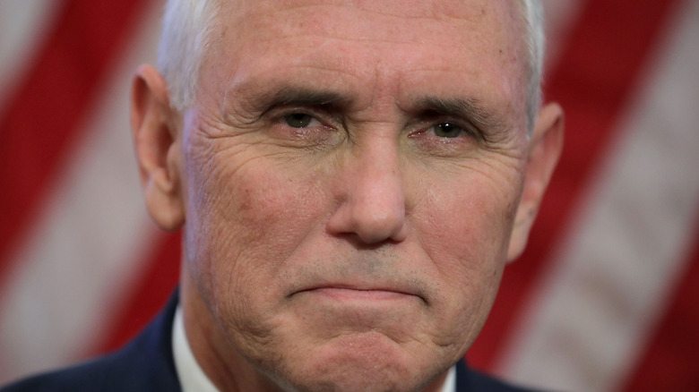 Mike Pence at the White House