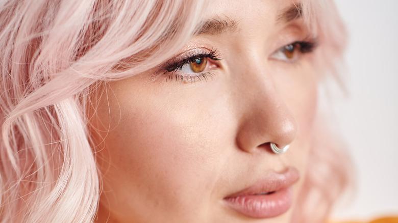 septum piercing in nose