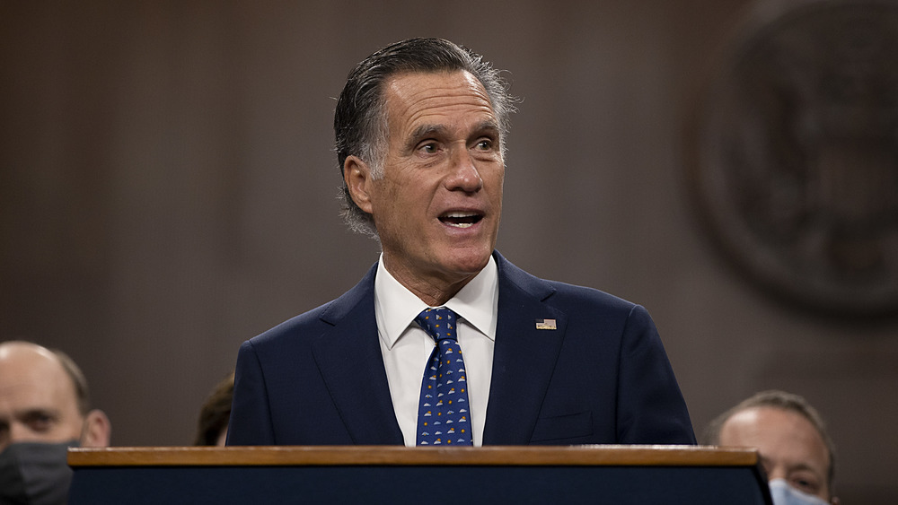 Utah Senator Mitt Romney