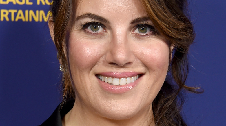 Monica Lewinsky smiles at an event