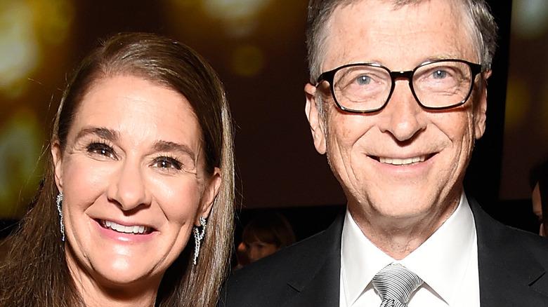Bill and Melinda Gates smiling