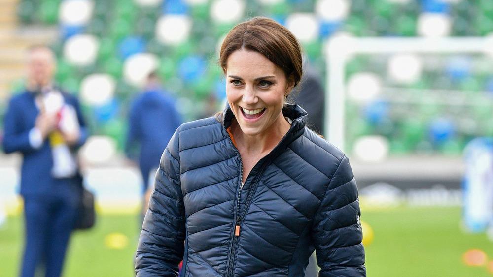 Kate Middleton in puffer jacket