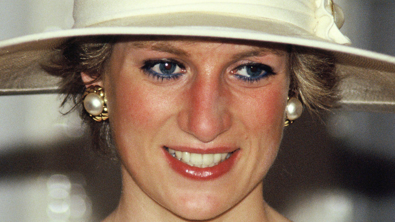 Princess Diana in beige