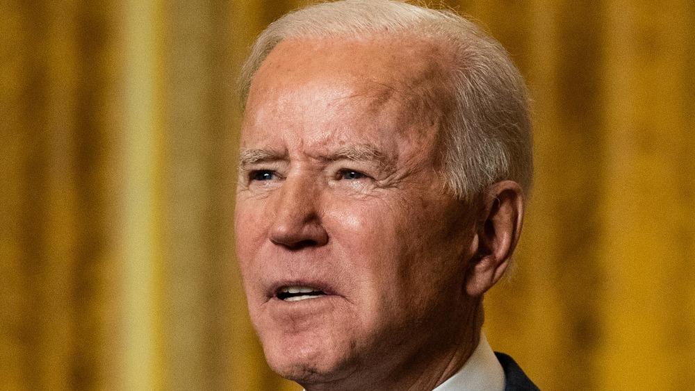 Joe Biden at a podium