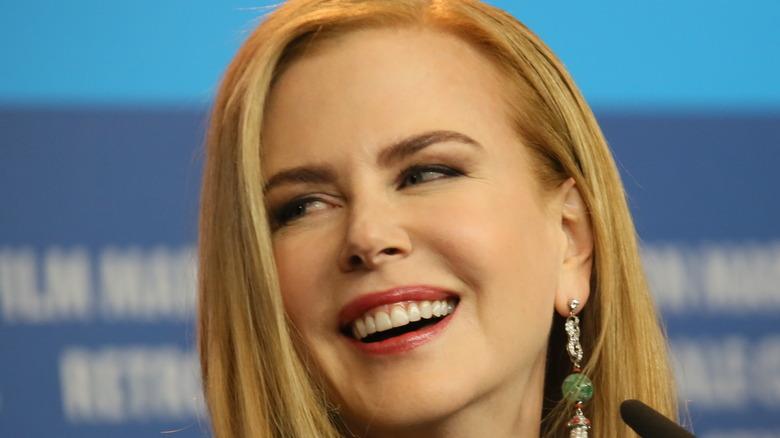 Nicole Kidman laughing