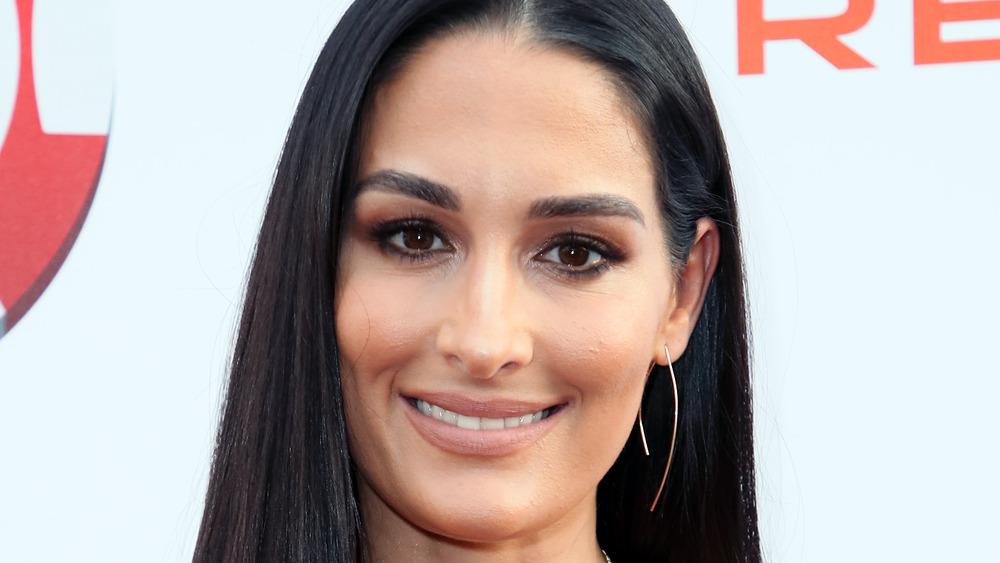 Nikki Bella smiling