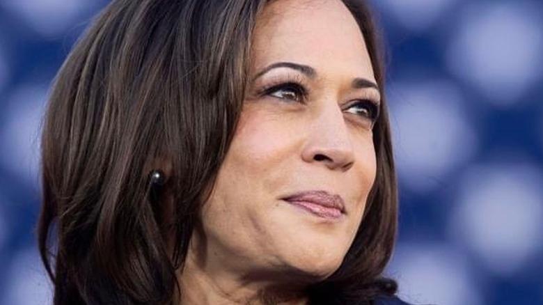 Vice President Kamala Harris smiling