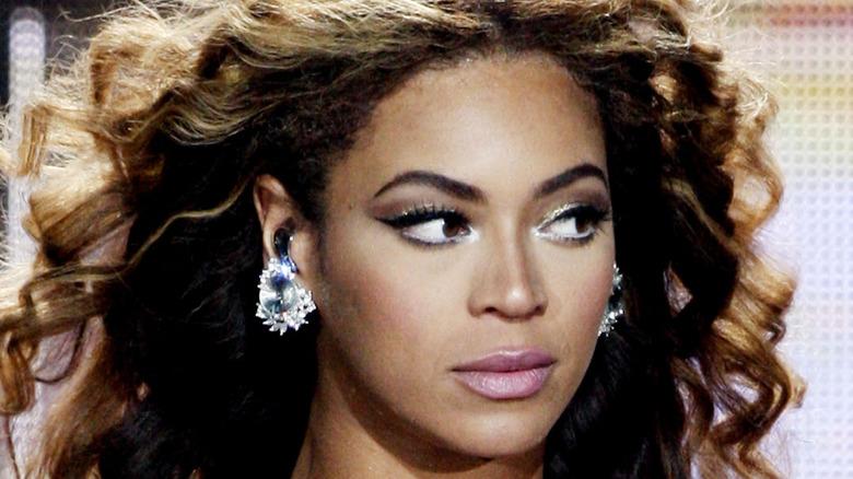Beyoncé looking fierce onstage