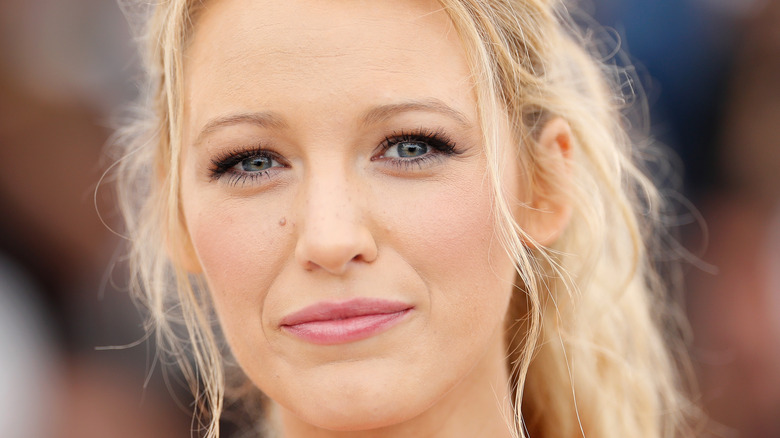 Blake Lively at a Cannes premiere