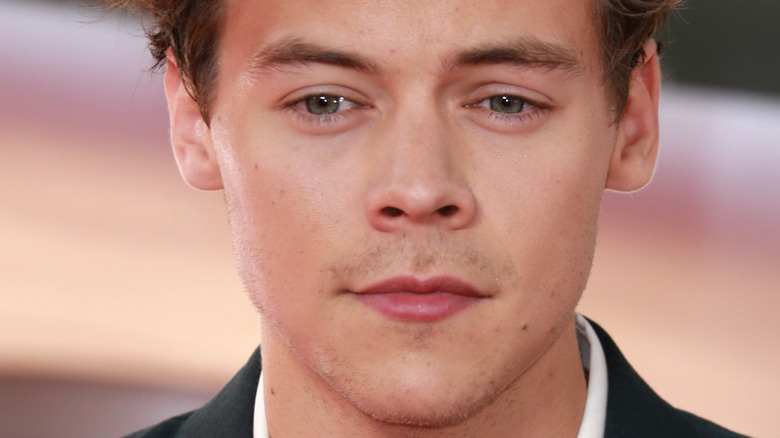 Close up photo of Harry Styles
