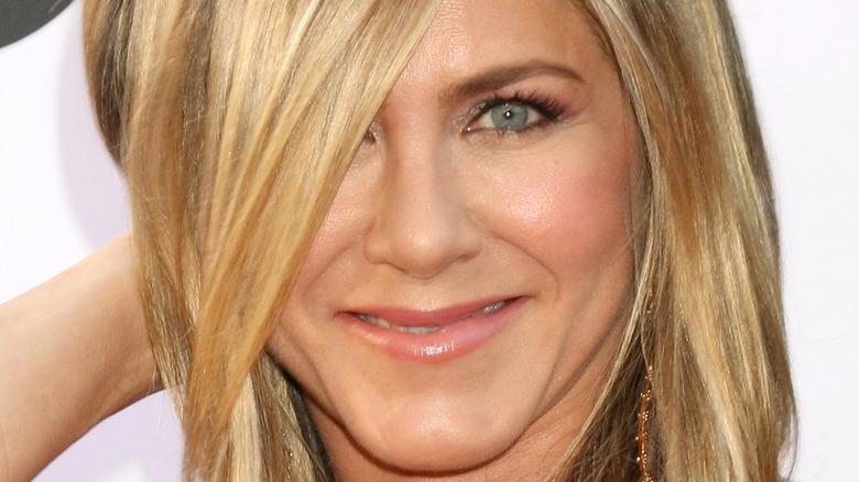 A smiling Jennifer Aniston