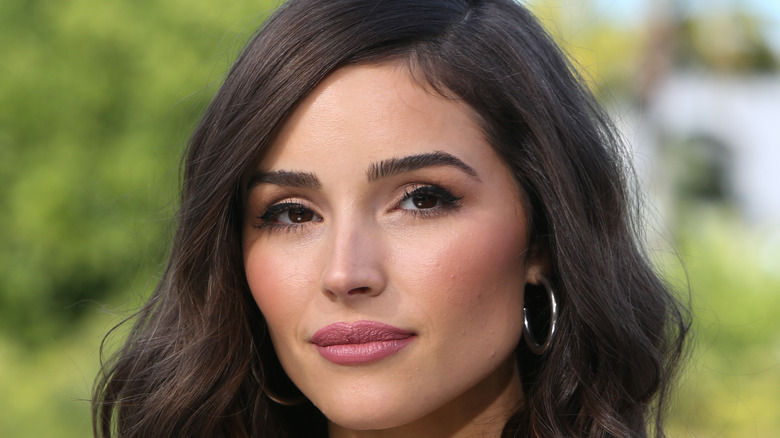 Olivia Culpo poses on the red carpet