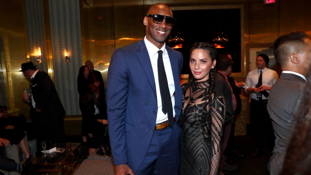 Kobe Bryant and Olivia Munn