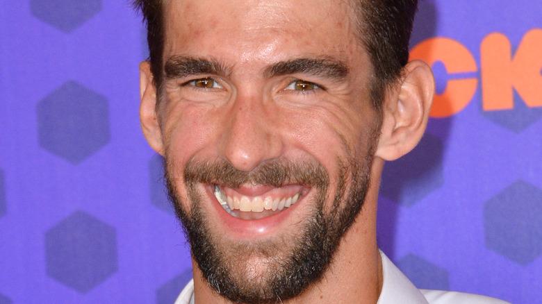 Michael Phelps close-up
