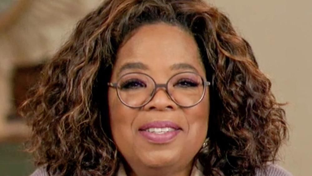 Oprah with glasses