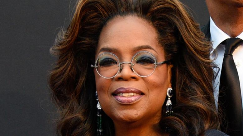 Oprah at an event