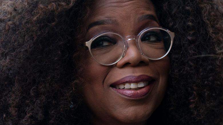 Oprah Winfrey in glasses