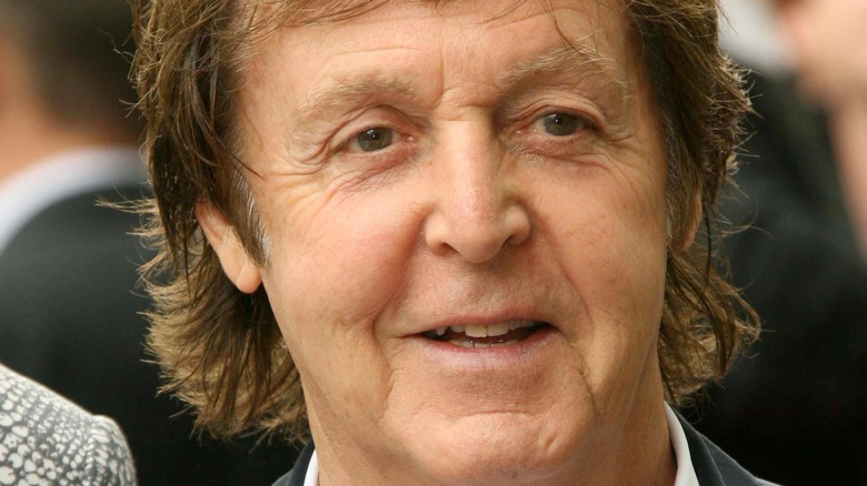 Paul McCartney on the red carpet