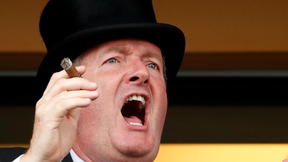Piers Morgan yells
