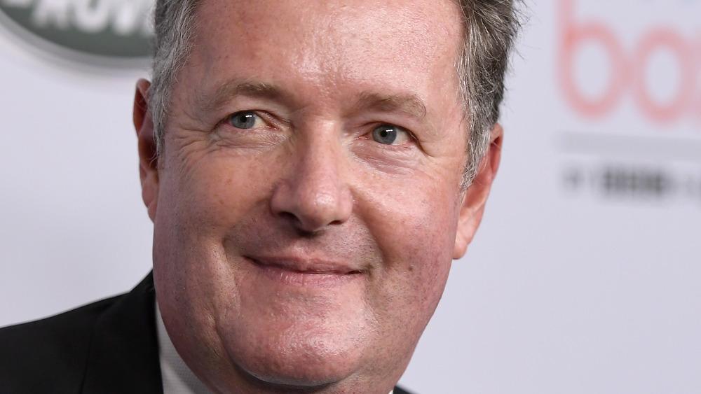 Piers Morgan on red carpet