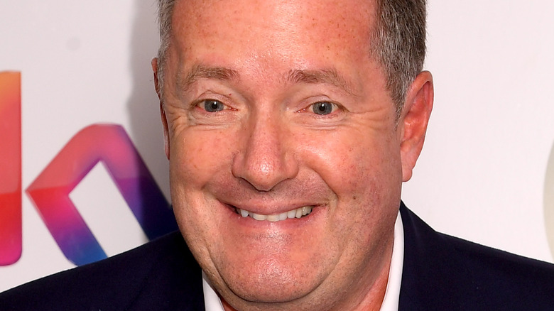 Piers Morgan praying for attention