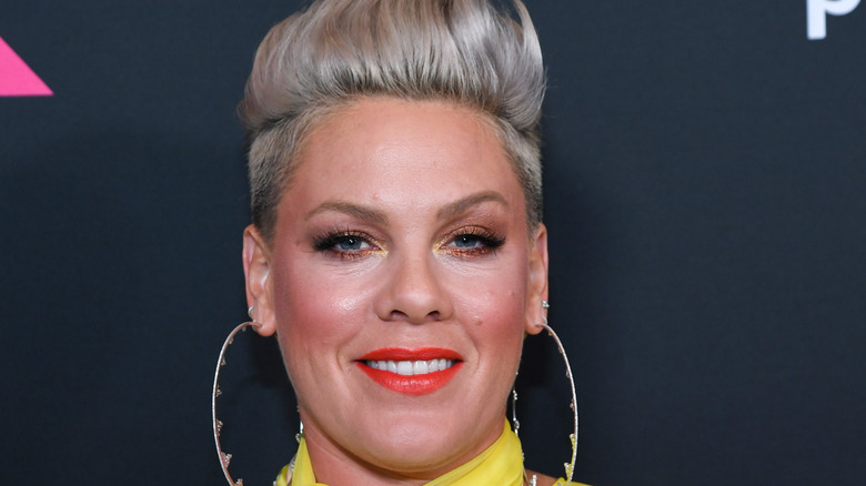 Pink in yellow gown in 2021