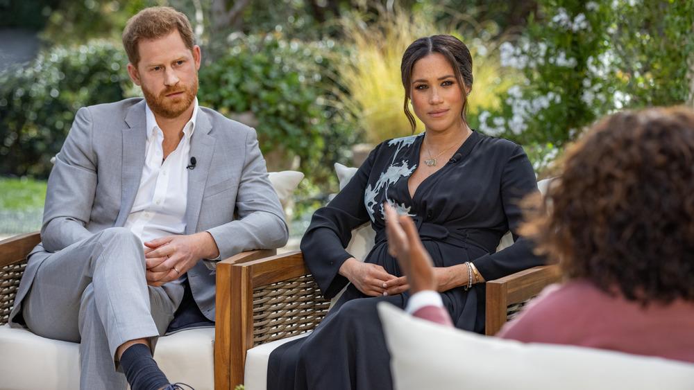 Oprah Winfrey interviews Harry and Meghan