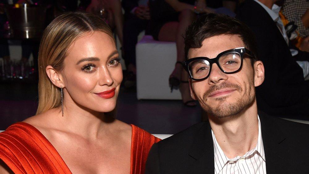 pop star Hilary Duff with husband Matthew Koma
