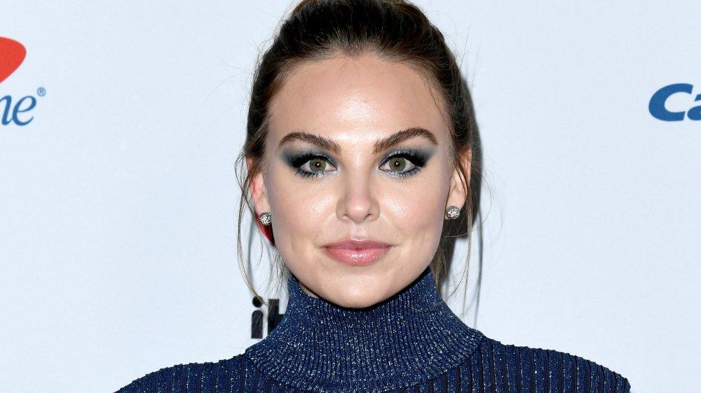 Bachelor contestant Hannah Brown with makeup