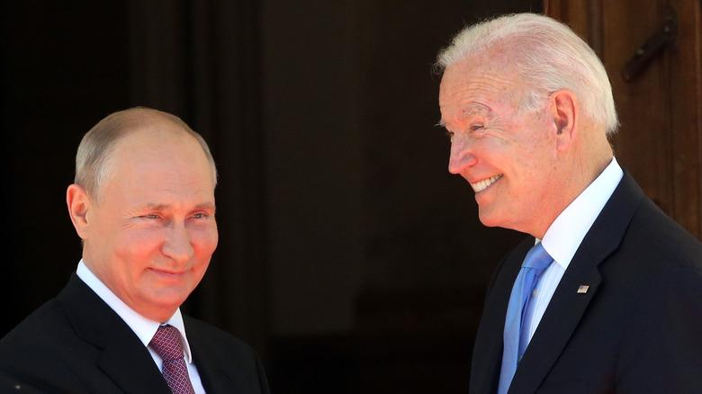 Joe Biden and Vladimir Putin meeting this week